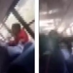 #Video Madre golpea a niño de nueve años a bordo de autobús escolar