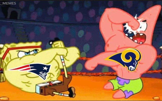 Los memes del Super Bowl LIII