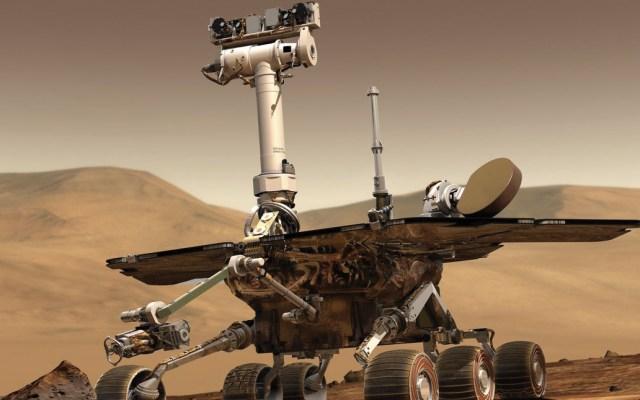 NASA confirma muerte del robot Opportunity - Foto de NASA