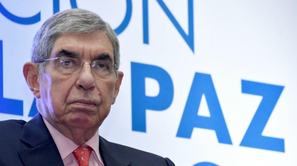 Expresidente costarricense Arias declara por denuncias de abuso sexual - Foto de AFP