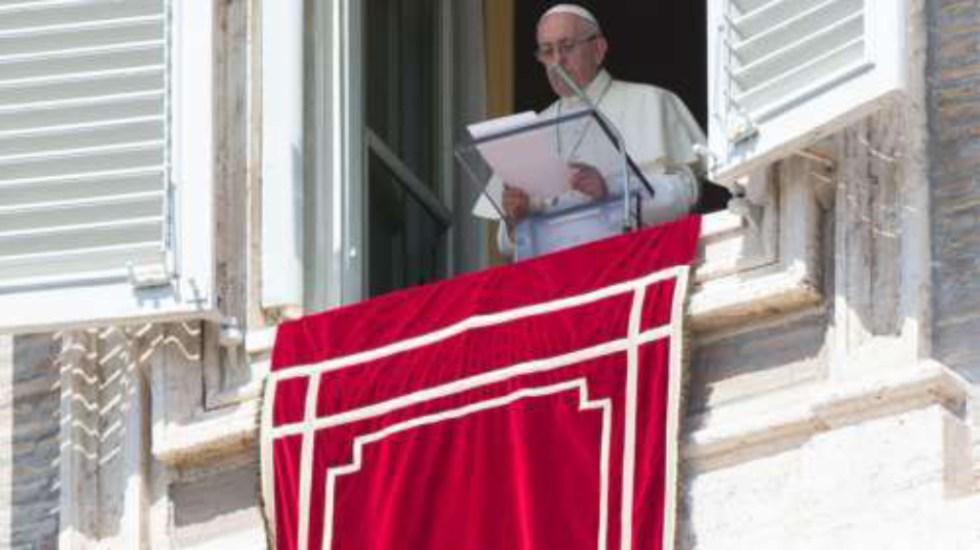 El papa pide por el éxito de conferencia sobre abuso de menores - papa francisco conferencia abusos
