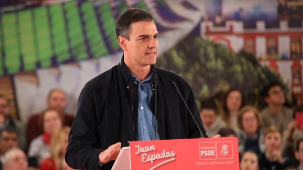 Pedro Sánchez será el presidente más breve de España - Foto de @sanchezcastejon
