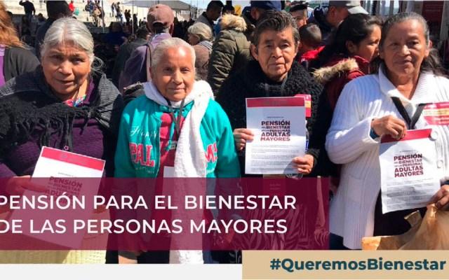 Publican reglas de operación para pensión de adultos mayores - La pensión universal a adultos mayores fue una de las promesas de campaña de AMLO. Foto de @BienestarMx