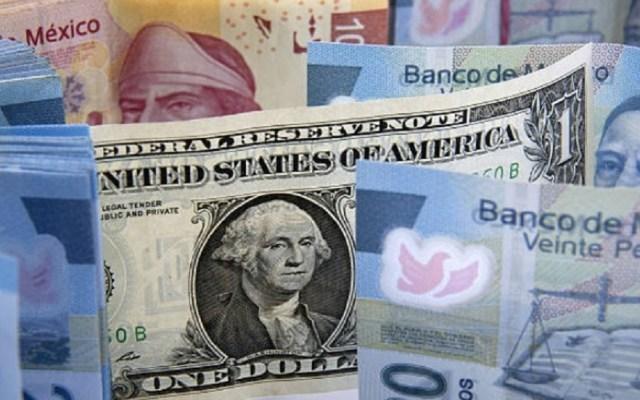 Dólar pierde 13 centavos y cierra hasta en 19.57 pesos - Foto de Internet