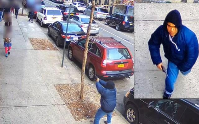 #Video Sujeto dispara contra multitud en el Bronx - Pistolero en el Bronx. Foto de NYPD