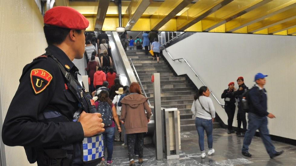 Suman 45 investigaciones por intento de secuestro en el Metro: PGJ - Foto de Notimex