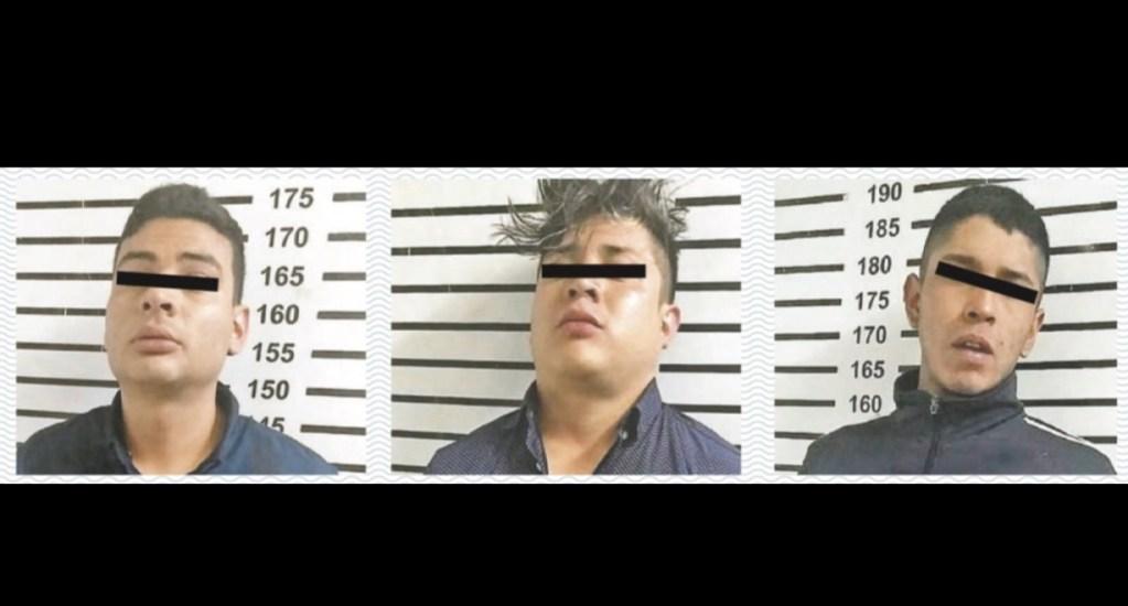 Detienen a tres presuntos ladrones de casas en zona residenciales - Foto de Contra Réplica