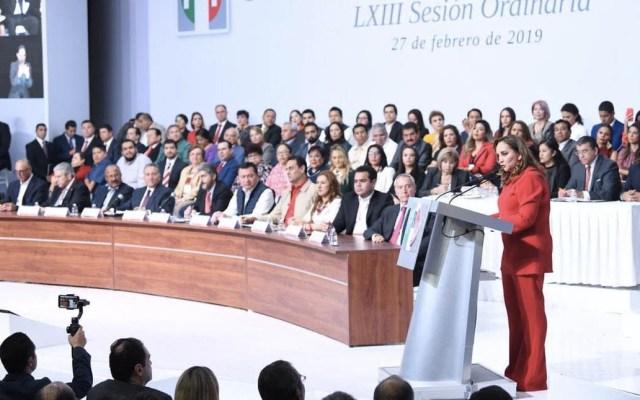 PRI solicitará al INE organizar proceso electoral interno - Foto de @PrensaCENPRI