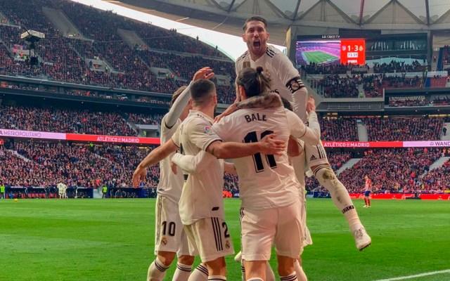 Real Madrid vence 3-1 al Atlético y le quita el segundo lugar - Foto de @realmadrid