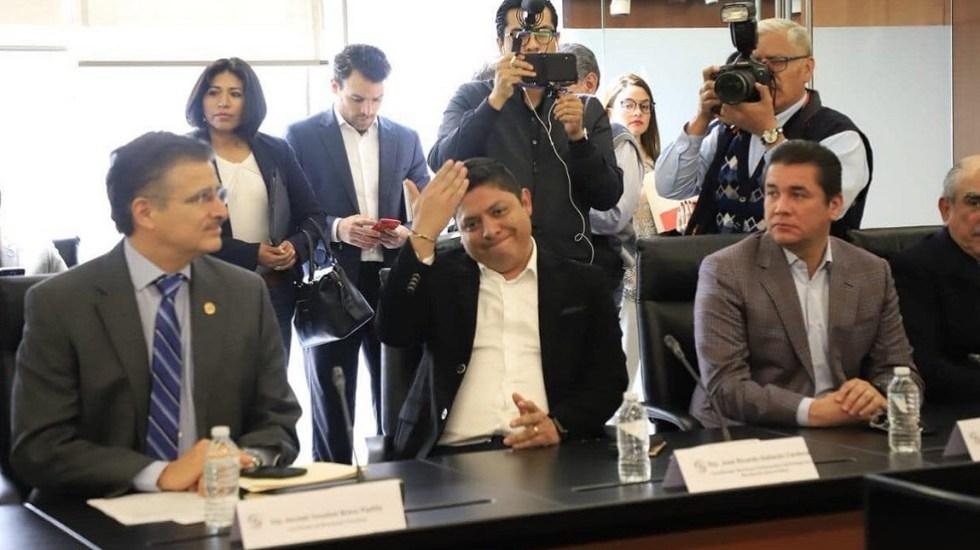 Renuncia coordinador del PRD en la Cámara de Diputados - Ricardo Gallardo. Foto de @RG_SLP