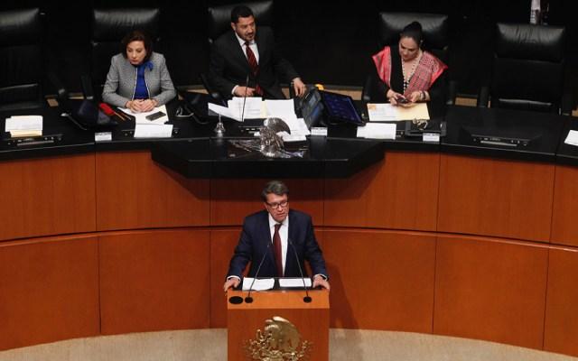El martes se votará nueva ministra de la SCJN: Monreal - entrevista monreal reforma constitucional