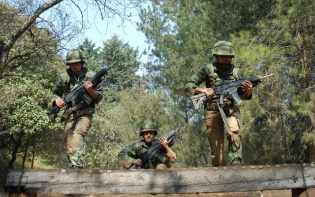 Uso de Fuerzas Armadas en seguridad ha sido un fracaso: ONU - Elementos de Sedena. Foto de Sedena