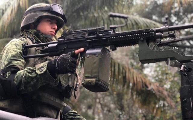 Congreso de Nuevo León aprueba creación de Guardia Nacional - Elemento de la Sedena. Foto de Sedena