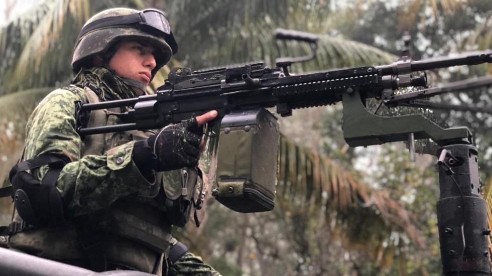 Guardia Nacional sí es de carácter militar: especialistas - Elemento de la Sedena. Foto de Sedena