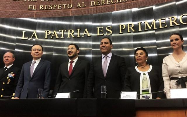 Senado inicia en comisiones revisión de Guardia Nacional - Foto de @martibatres