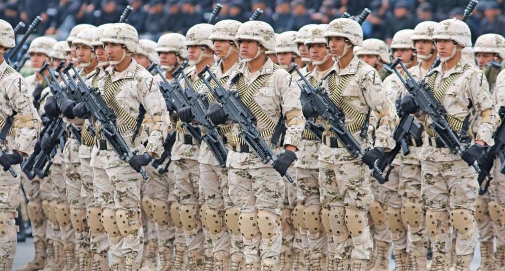 Diputados alistan aprobación de Guardia Nacional para el jueves - Elementos de la Sedena. Foto de @SEDENAmx