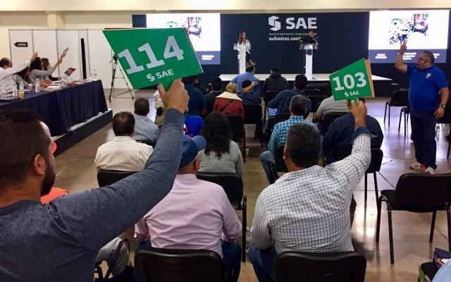 Emiten convocatoria para subasta de vehículos oficiales en Santa Lucía - Subasta del SAE. Foto de SAE
