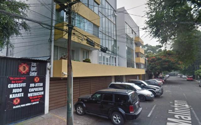 Investigan presunto suicidio en departamento de Coyoacán - Captura de Google Maps
