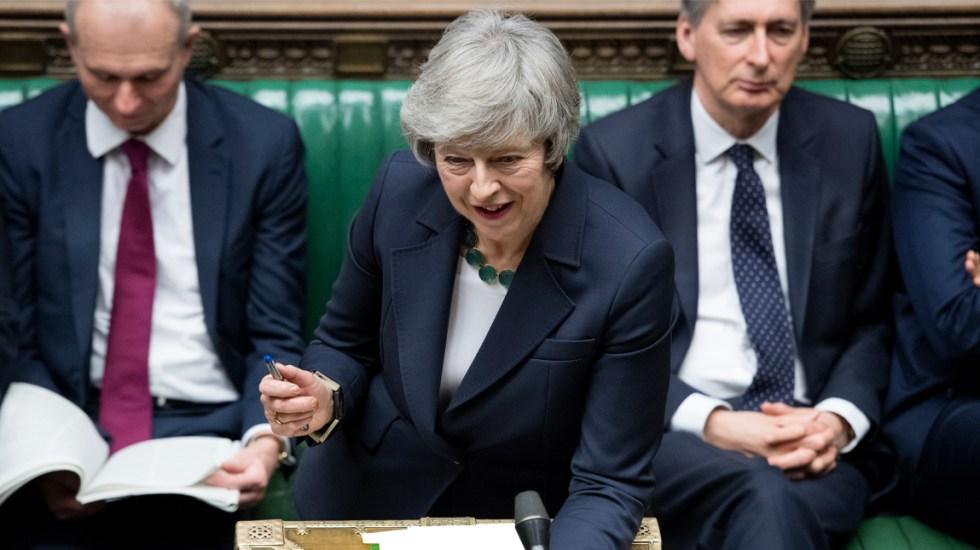 Brexit concluirá con acuerdo el 29 de marzo: May - Foto de AFP