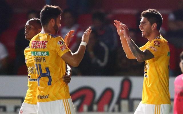 Tigres es líder momentáneo del Clausura 2019 - Foto de Mexsport