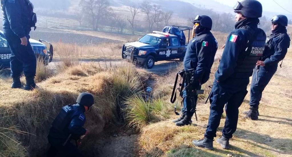Aseguran 11 tomas clandestinas en poliductos de Pemex en tres estados - Foto de Policía Federal