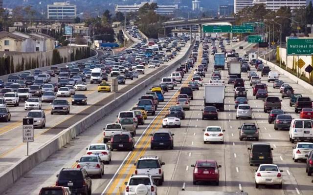 Las 10 ciudades con el peor tránsito en Estados Unidos - Tránsito en Los Ángeles. Foto de Shutterstock
