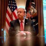 Trump emitiría el primer veto si le niegan la emergencia nacional - Foto de AFP