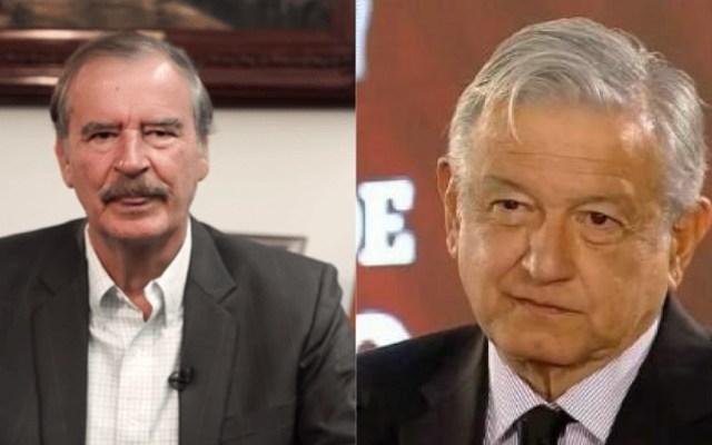 Fox critica a López Obrador por asesinatos de periodistas - Vicente Fox y AMLO periodistas