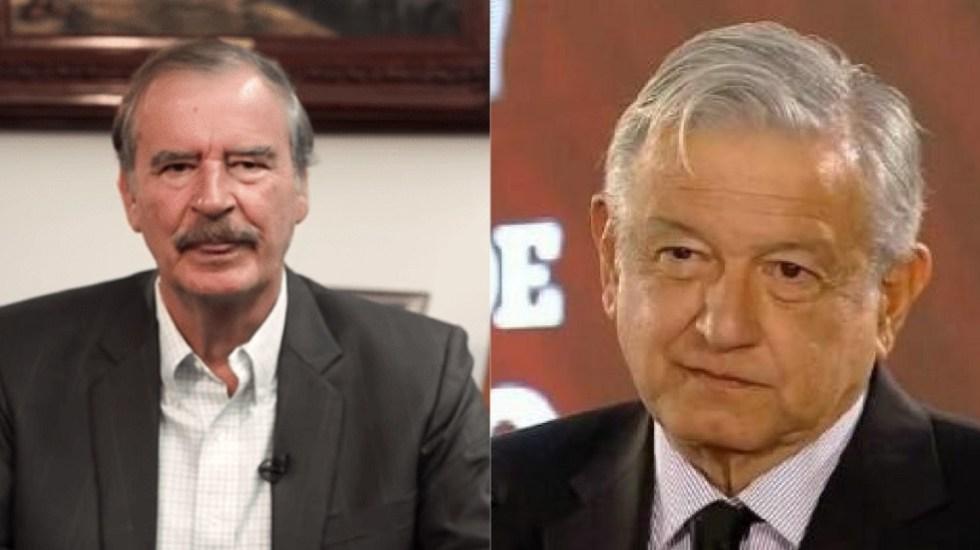 Fox denuncia que comando armado intentó entrar a su casa - Vicente Fox y AMLO periodistas