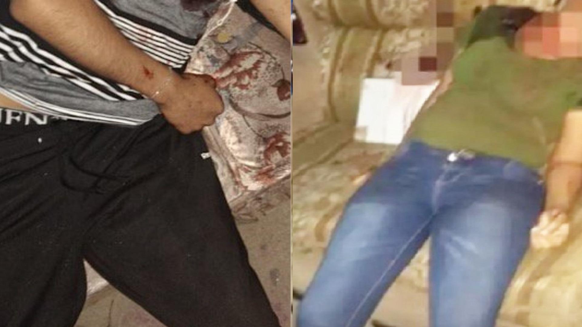 Algunas víctimas dentro de la casa. Foto de @alec_diaz_ y @GtoInforma