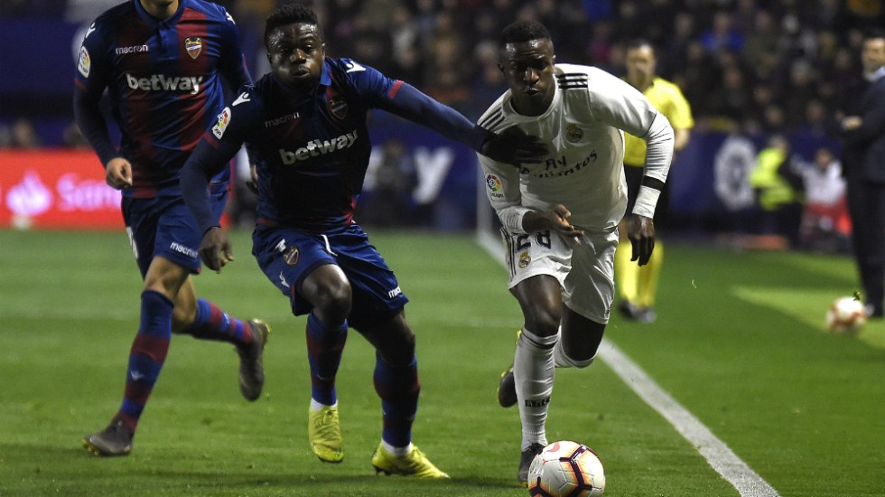 Messi no asusta a nadie: Vinicius Junior - Vinicius Junior, atacante del Real Madrid. Foto de AFP
