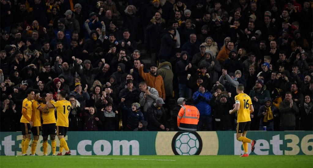 Wolverhamptonde Raúl Jiménez clasifica a octavos de final de la FA Cup - Foto de AFP