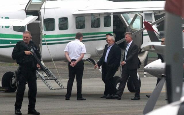 Lula da Silva deja la cárcel para asistir al funeral de su nieto - Lula da Silva deja la cárcel para el funeral de su nieto