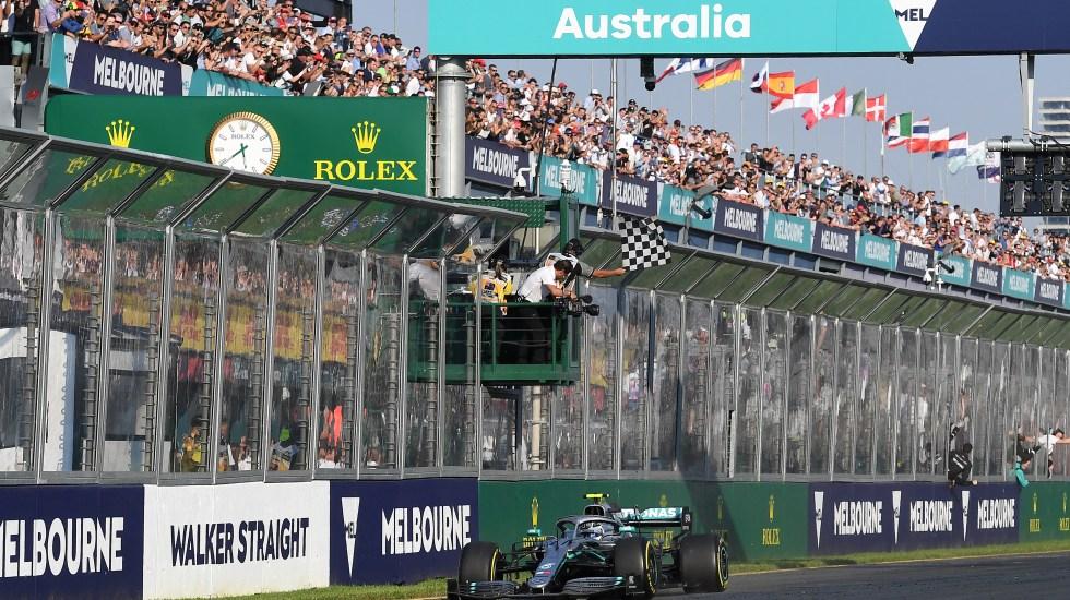 Reflejos del GP de Australia 2019 - GP de Melbourne, Australia. Foto de AFP.