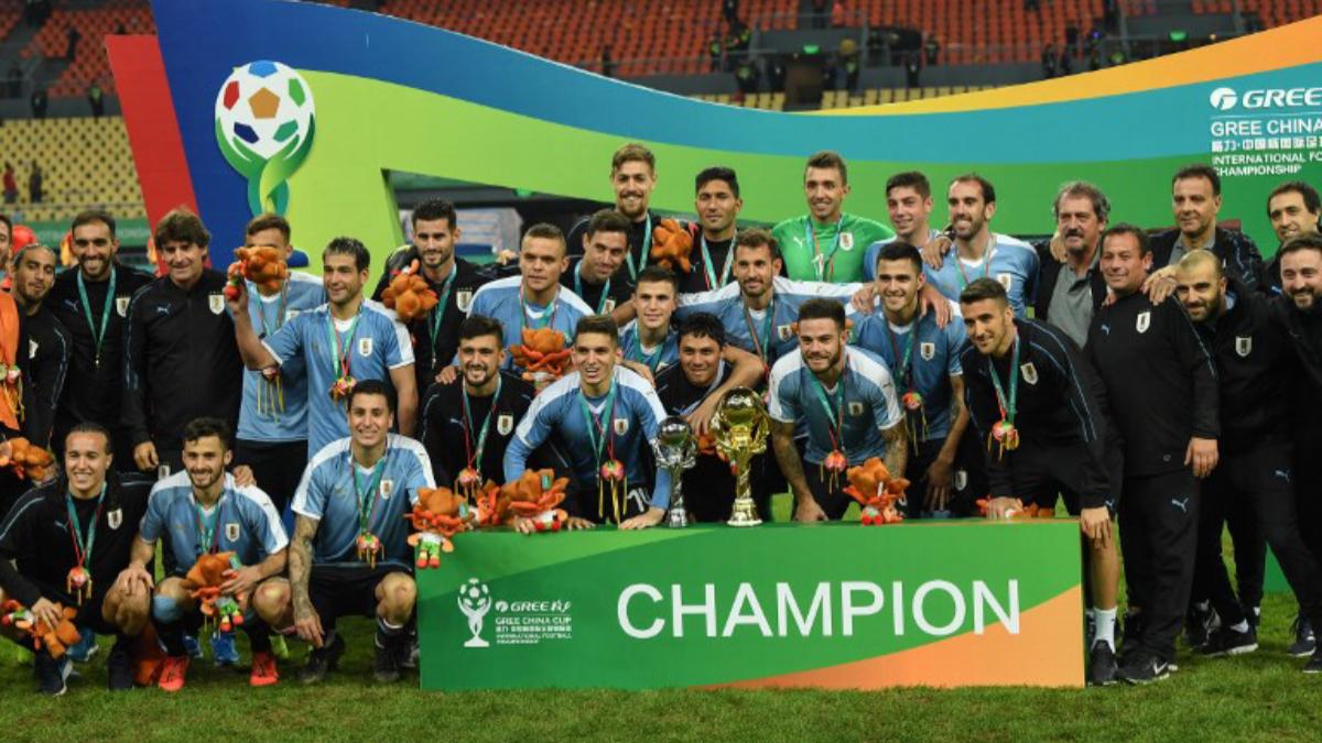 Deportes: Uruguay es campeón en China