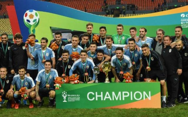 Uruguay golea a Tailandia y conquista la China Cup - uruguay tailandia china cup