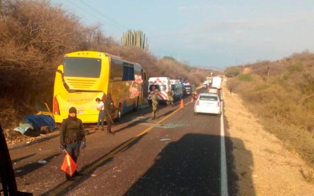 Accidente de autobús deja nueve muertos en Puebla - Foto de @vicente41736635