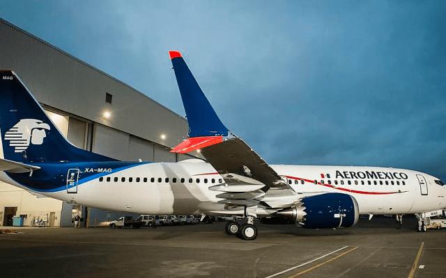 México suspende operaciones de Boeing MAX 8 y 9 - Aeroméxico