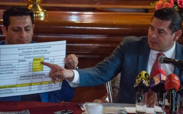 Apelará Armenta la designación de Barbosa a la candidatura de Puebla - Apelará Armenta la designación de Barbosa a la candidatura de Puebla