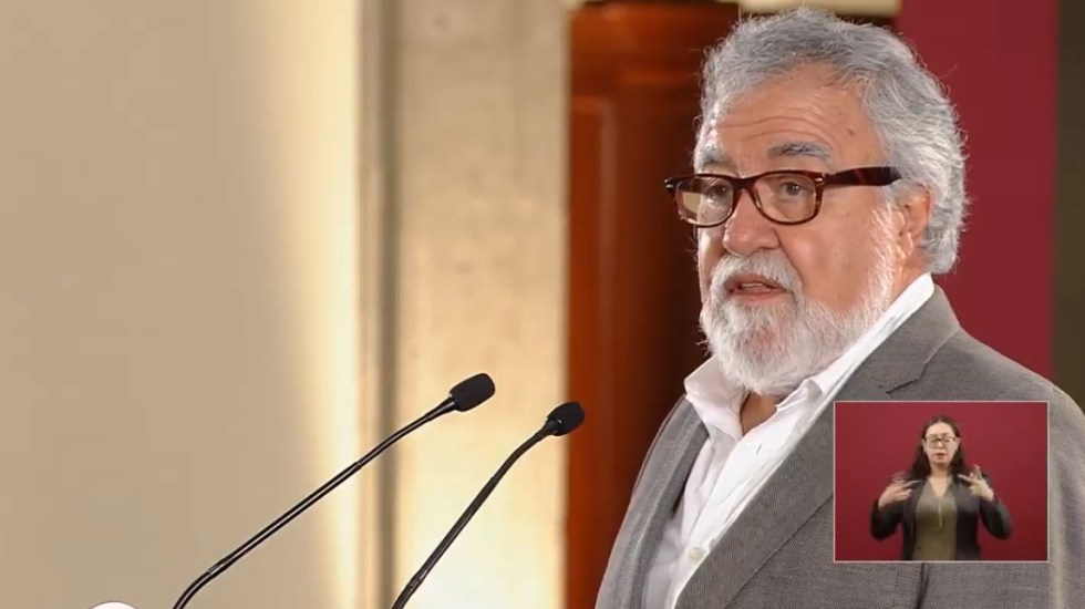 Policía Federal protegerá a periodistas y defensores de derechos humanos - Alejandro Encinas, subsecretario de Derechos Humanos de la Segob. Captura de pantalla