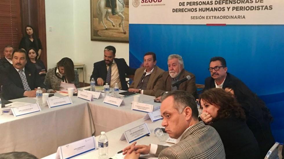 Reactivan plan para prevenir agresiones a periodistas y defensores - Foto de @A_Encinas_R