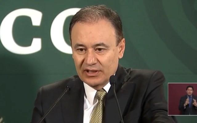 Alfonso Durazo revela costo de la Guardia Nacional - Alfonso Durazo en conferencia de AMLO. Captura de pantalla