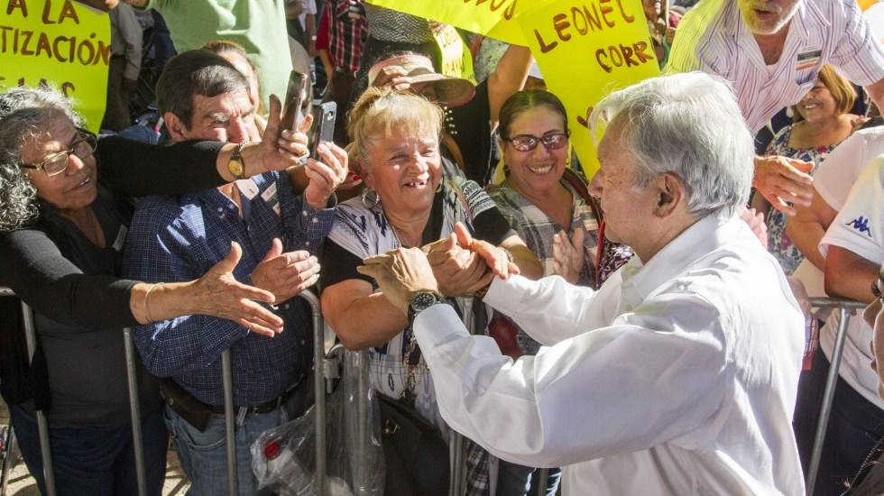 López Obrador prepara entrega de apoyos en Puebla - López Obrador en Jalisco. Foto de Notimex