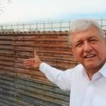 López Obrador respetará decisión de Estados Unidos de construir el muro - Captura de pantalla