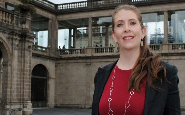 Nombran a mexicana como una de las 15 científicas más prometedoras - Ana Sofía Varela. Foto de UNAM