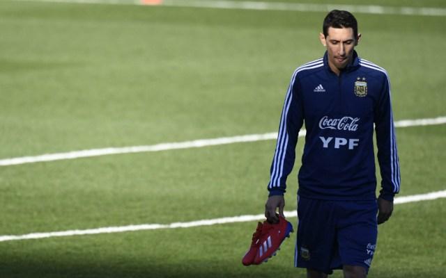 Di María es baja en la selección argentina por lesión - Foto de AFP