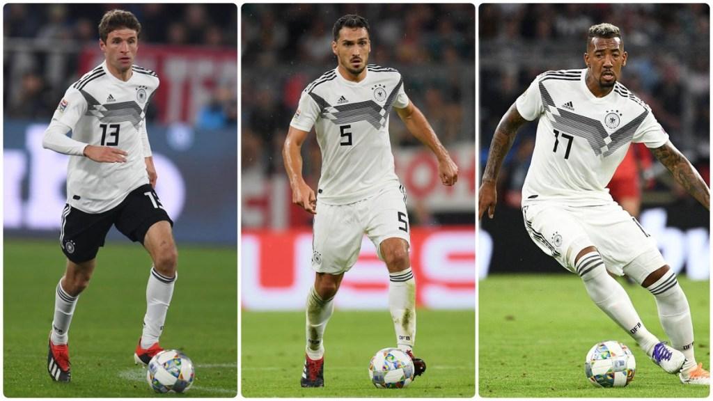 Müller, Hummels y Boateng fuera de la Mannschaft - müller, hummels y boateng fuera de la mannschaft