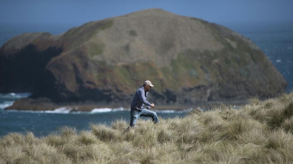 Isla de Australia tiene el aire más puro de la Tierra - Cabo Grim en Australia. Foto de AFP / William West