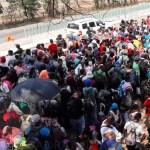 Nueva caravana con cerca de mil 200 migrantes parte de Chiapas - Foto de Quadratín