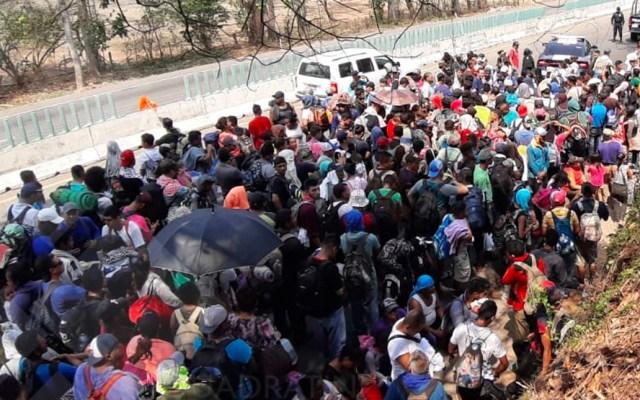 Caravanas son una realidad, no un invento: Segob a Honduras - Foto de Quadratín